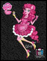 Pinkie Pie a-la-Monster High by NemoTurunen
