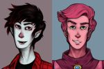 Marshall and Gumball : Portraits of Royalty by TheLanguidClown