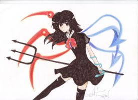 Nue Houjuu - Touhou by Extacy-Project