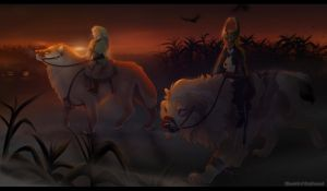 Under Twilight - Haunted Trail Collab by Hlaorith