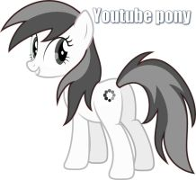 More Like Youtube Pony by Qewerka