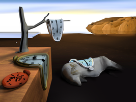 Persistence of Memory 3D by kamibox