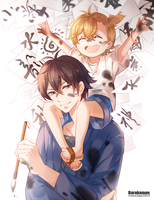 Barakamon by INstockee