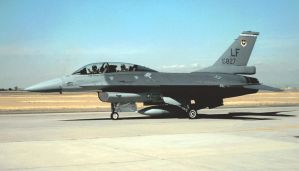 21st Fighter Squadron Jet by F16CrewChief
