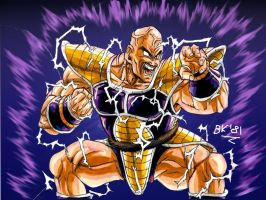 Nappa powering up edited by BK-81