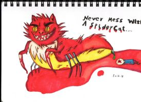 Mever mess with a SpiderCat.... by ErikCreations