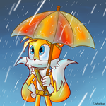 It's a Rainy Day by DigiHopeheart