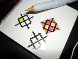 Miniature Stained Glass Windows by kayanah