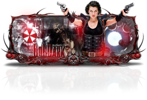 Sign Resident Evil by Cristiano-LoLDark