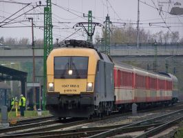 Special train in Gyor on 2009. by morpheus880223