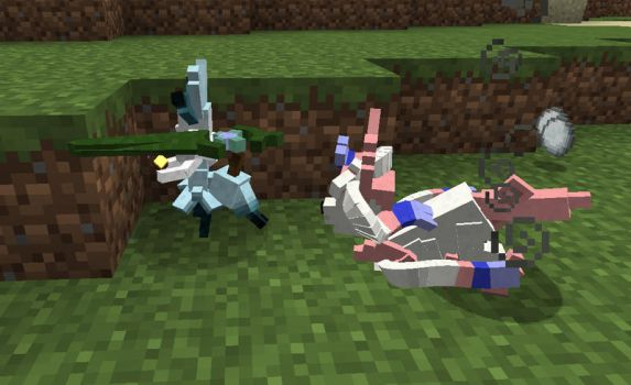 Minecraft Modification: Okami Sylveon Sample by FuzzyAcornIndustries