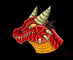 Red dragon by giantdragon