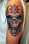 Skull by Charlie by gettattoo