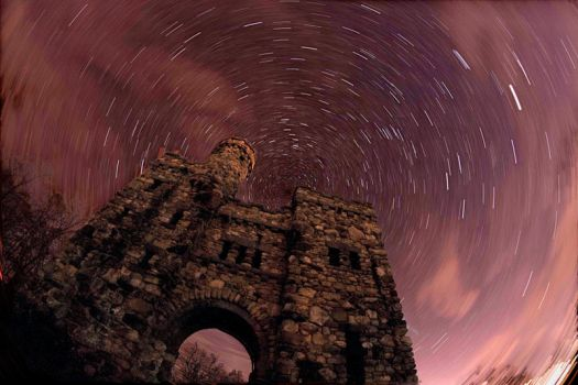 Star Trails - Another Dimension by aeroartist