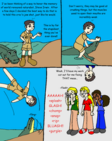 Steve Irwin tribute comic by Wakeangel2001