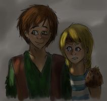Hiccup and Astrid by pokings