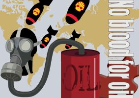 No Blood For Oil by Activists
