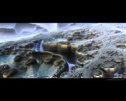 Fractalscape planet by love1008