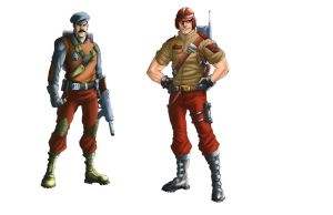 GI Joe Character Shots by ChrisSummersArts