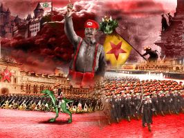 The Communist Mario Triumphant by Thrakks