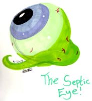 The Septic Eye by singingaboutthesnow