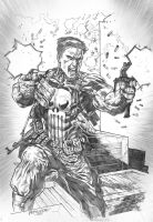 The Punisher by Reybronx
