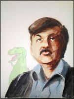 WIP Stephen Jay Gould by PunchySonichu