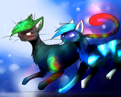 And Everything Glows :CE: by Diamondfeathers