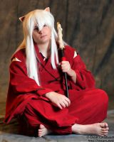 Inuyasha Cosplay - Sitting by MaxArcher