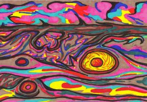 Cosmic Storms of Jupiter by UncleGuts