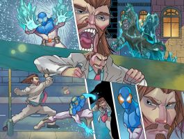 Frost Fire issue 4 page 8-9 by VegasDay