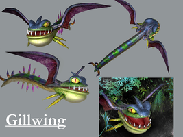 Gillwing by kichigai