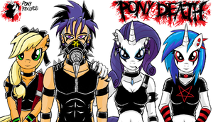 Emo Style The Pony Band by emichaca