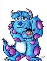 Boo and Sulley by Lilymint7