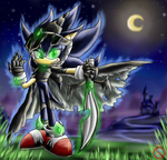 Nocturne Sonic by shadowhatesomochao