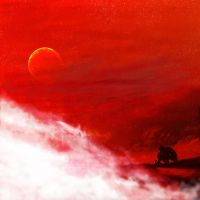 Blood Red Sky by phoenixq