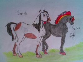 Solina and Cabriola by Leadmare