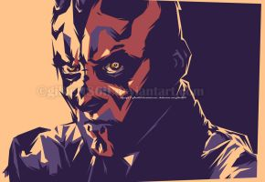 darth maul by gilbert86II