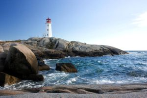 Peggy's Cove Lighthouse 2 by GreyVolk