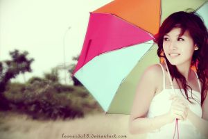 .: umbrella girl :. by leonardo18
