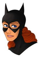 Batgirl colored by xXBleedingBeautyXx