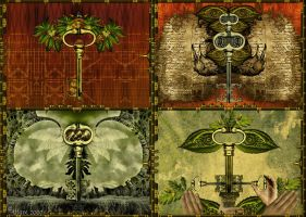 Four Keys of attave. by Attave