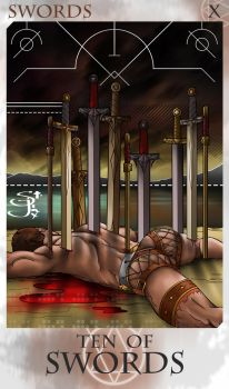 10 of Swords by St-Jinx