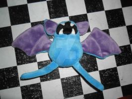 041 Zubat plush by xmorris33