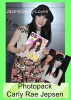 Photopack Carly Rae Jepsen -3- by Jazminswag-Editions