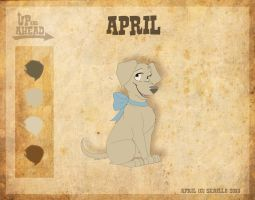 April - Character Sheet by Skailla