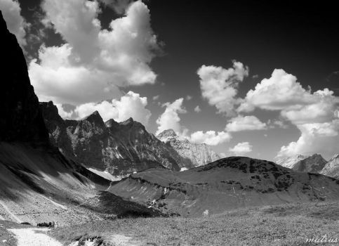 The Alps PARADISE 2 BW by mutrus