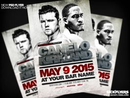 Canelo Vs Kirkland Flyer PSD by Industrykidz
