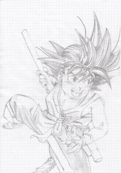 Son Goku (Kid) by Areaofeffects