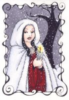 Unused Yule Card by rachelillustrates